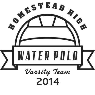 Water Polo Template DNT001 BW Vignette